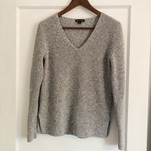 J. Crew v neck knit sweater